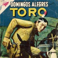 Tebeos: DOMINGOS ALEGRES Nº 278 - TORO - JULIO 1959 - UNA REVISTA SEA - NOVARO - RARO. Lote 95763527