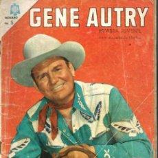 Tebeos: GENE AUTRY Nº 147 - JUNIO 1966 - NOVARO - RARO. Lote 95763723