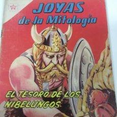 Tebeos: NOVARO, JOYAS DE LA MITOLOGIA. NUM 7: EL TESORO DE LOS NIBELUNGOS. 1/9/63. Lote 95861795