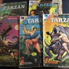 Tebeos: TARZAN LOTE Nº 269, 293, 338, 344 Y 422, (NOVARO) (COI36). Lote 95880799