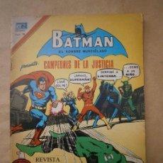 Tebeos: BATMAN N°2-886 SERIE ÁGUILA - CAMPEONES DE LA JUSTICIA! - ORIGINAL EDITORIAL NOVARO. Lote 96000995