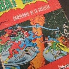 Tebeos: BATMAN CAMPEONES DE LA JUSTICIA COMICS ESPAÑOL 1975 NOVARO COLOMBIA RARA ESCASA C1.. Lote 96078739