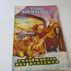 Tebeos: VIDAS EJEMPLARES Nº. 78-TRES MONJES DEL DESIERTO-1960. Lote 96375623