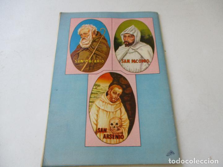 Tebeos: VIDAS EJEMPLARES Nº. 78-TRES MONJES DEL DESIERTO-1960 - Foto 2 - 96375623