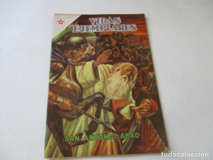 VIDAS EJEMPLARES Nº.131-SAN ANTONIO ABAD.- 1962 (Tebeos y Comics - Novaro - Vidas ejemplares)