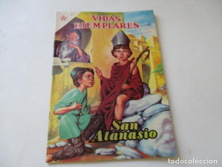 VIDAS EJEMPLARES Nº.84--SAN ATANASIO, OBISPO.- 1960 (Tebeos y Comics - Novaro - Vidas ejemplares)