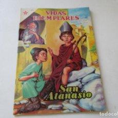 Tebeos: VIDAS EJEMPLARES Nº.84--SAN ATANASIO, OBISPO.- 1960. Lote 96375963