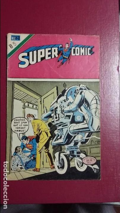 SUPERCOMIC N° 85 - ORIGINAL EDITORIAL NOVARO (Tebeos y Comics - Novaro - Superman)