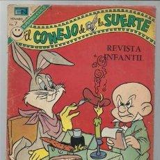 Tebeos: EL CONEJO DE LA SUERTE 393, 1972, NOVARO. Lote 96453807