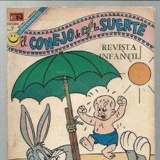 Tebeos: EL CONEJO 397, 1972, NOVARO, BUEN ESTADO. Lote 96453987