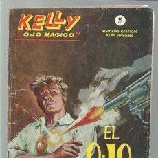 Tebeos: KELLY OJO MAGICO Nº 1, 1965, VERTICE GRAPA.. Lote 96456423