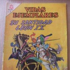 Tebeos: VIDAS EJEMPLARES Nº 214 SU SANTIDAD LEON IX EDITORIAL NOVARO. Lote 96485039