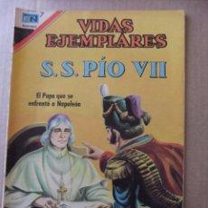 Tebeos: VIDAS EJEMPLARES Nº 259 S.S. PIO VII EDITORIAL NOVARO. Lote 96485303