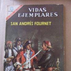 Tebeos: VIDAS EJEMPLARES Nº 233 SAN ANDRES FOURNET EDITORIAL NOVARO. Lote 96485623
