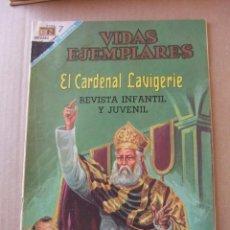 Tebeos: VIDAS EJEMPLARES Nº 262 EL CARDENAL LAVIGEIRE EDITORIAL NOVARO. Lote 96485819