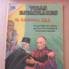 Tebeos: VIDAS EJEMPLARES Nº 296 EL CARDENAL BEA EDITORIAL NOVARO. Lote 96485903