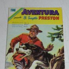 Tebeos: (M7) AVENTURA EL SARGENTO PRESTON NUM 873 , 1978 SEÑALES DE USO. Lote 96531811