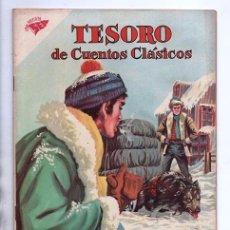 Tebeos: TESORO DE CUENTOS CLASICOS # 59 NOVARO 1962 JACK LONDON EL LLAMADO DE LA SELVA IMPECABLE ESTADO. Lote 200130450