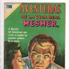 Tebeos: AVENTURAS DE LA VIDA REAL # 173 NOVARO 1970 FRANCISCO MESMER Y LOS PODERES DE LA MENTE EXCELENTE. Lote 96678483