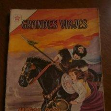 Tebeos: GRANDES VIAJES N° 3 - ORIGINAL EDITORIAL NOVARO. Lote 96997195