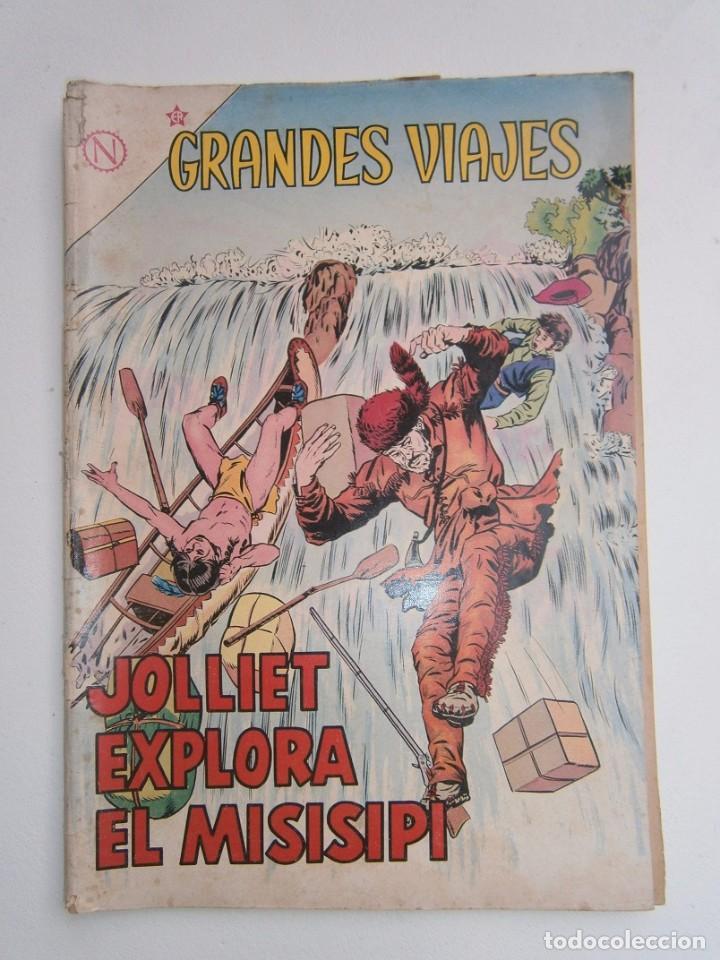 GRANDES VIAJES N° 11 - ORIGINAL EDITORIAL NOVARO (Tebeos y Comics - Novaro - Grandes Viajes)