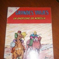 Tebeos: GRANDES VIAJES N° 12 - ORIGINAL EDITORIAL NOVARO. Lote 96997903
