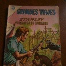 Tebeos: GRANDES VIAJES N° 18 - ORIGINAL EDITORIAL NOVARO. Lote 96998255
