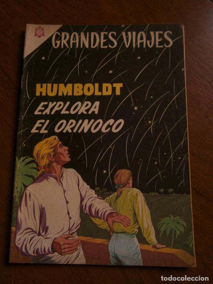 GRANDES VIAJES N° 23 - ORIGINAL EDITORIAL NOVARO (Tebeos y Comics - Novaro - Grandes Viajes)