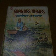 Tebeos: GRANDES VIAJES N° 33 - ORIGINAL EDITORIAL NOVARO. Lote 97032795