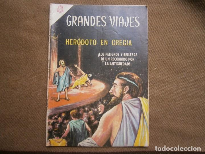 GRANDES VIAJES N° 34 - ORIGINAL EDITORIAL NOVARO (Tebeos y Comics - Novaro - Grandes Viajes)