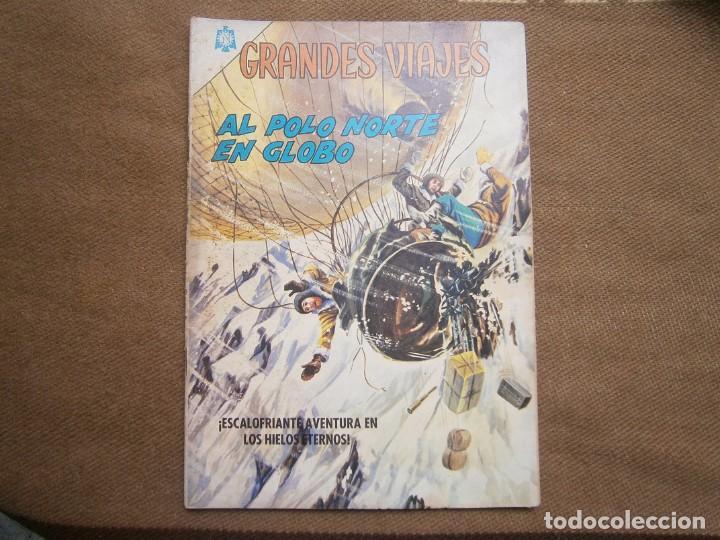 GRANDES VIAJES N° 35 - ORIGINAL EDITORIAL NOVARO (Tebeos y Comics - Novaro - Grandes Viajes)