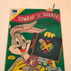 Tebeos: BUGS BUNNY EL CONEJO DE LA SUERTE Nº 366. NOVARO. Lote 97046775