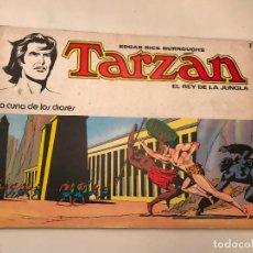 Tebeos: TARZAN EL REY DE LA JUNGLA Nº 1. LA CUNA DE LOS DIOSES. NOVARO 1976. Lote 97223935