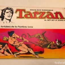 Tebeos: TARZAN EL REY DE LA JUNGLA Nº 5. LA FORTALEZA DE LOS HOMBRES LOCOS. NOVARO 1976. Lote 97224295