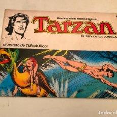 Tebeos: TARZAN EL REY DE LA JUNGLA Nº 6. EL SECRETO DE TCHACK-MOOL. NOVARO 1976. Lote 97224375