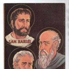 Tebeos: VIDAS EJEMPLARES # 198 NOVARO 1965 SANTOS BARSES, EULOGIO Y PROTOGENES MUY BUEN ESTADO. Lote 97339163