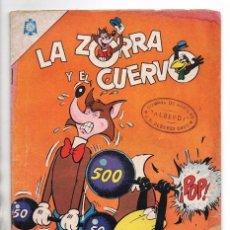 Tebeos: LA ZORRA Y EL CUERVO # 178 NOVARO 1965 LA JAURIA Y LA LIEBRE BUEN ESTADO. Lote 97339839