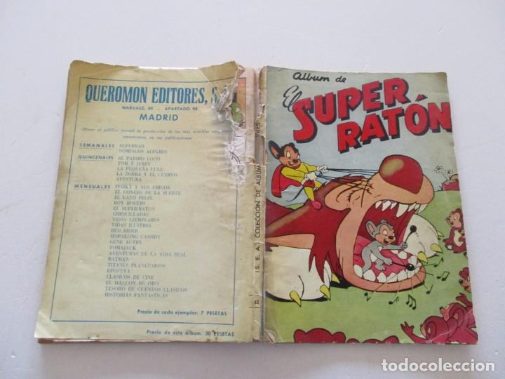 ALBUM DE EL SUPER RATÓN. RM82975. (Tebeos y Comics - Novaro - Otros)