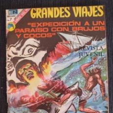 Tebeos: GRANDES VIAJES Nº 126 EDITORIAL NOVARO. Lote 97519215
