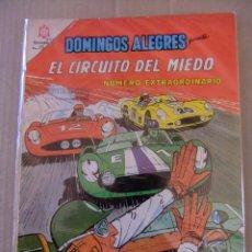 Tebeos: EL CIRCUITO DEL MIEDO DOMINGOS ALEGRES NUMERO EXTRAORDINARIO EDITORIAL NOVARO. Lote 97571627