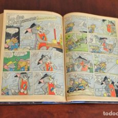 Tebeos: TOMO CON 20 COMICS TOM Y JERRY 640 PAGINAS ANTIGUO. Lote 97622919