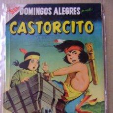 Tebeos: CASTORCITO DOMINGOS ALEGRES Nº 162 EDITORIAL NOVARO. Lote 97673683