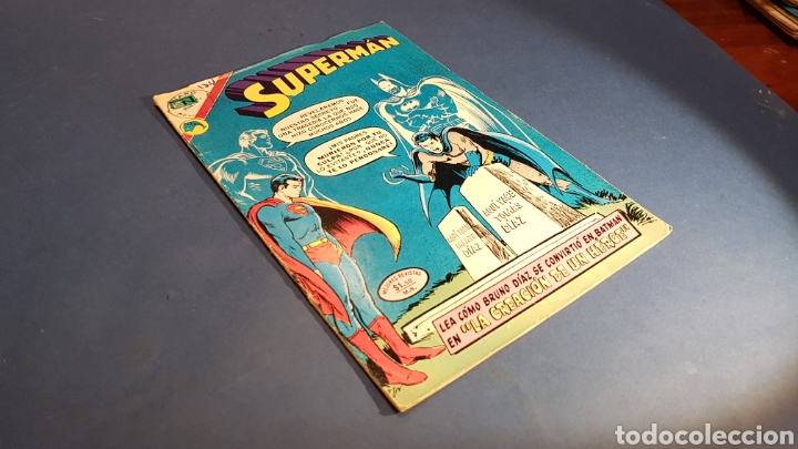 SUPERMAN 904 MUY BUEN ESTADO NOVARO (Tebeos y Comics - Novaro - Superman)