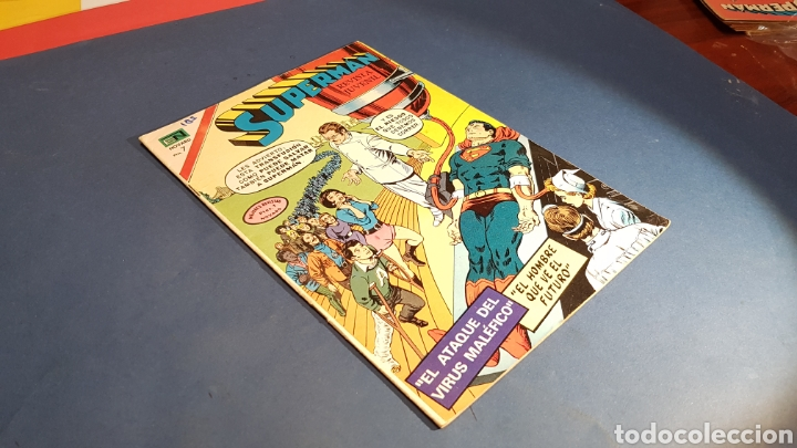 SUPERMAN 886 MUY BUEN ESTADO NOVARO (Tebeos y Comics - Novaro - Superman)