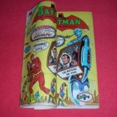 Tebeos: BATMAN PRESENTA: FLASH NO. 644 NOVARO MÉXICO 24.08.1972.ATENCIÓN: RARO Y ÚNICO DOBLE PORTADA GRAPADA. Lote 97832542