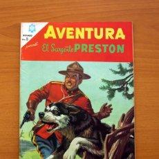 Tebeos: AVENTURA Nº 451 - EL SARGENTO PRESTON - EDITORIAL NOVARO 1966. Lote 97850627