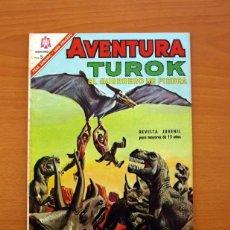 Tebeos: AVENTURA Nº 461 - TUROK EL GUERRERO DE PIEDRA - EDITORIAL NOVARO 1966. Lote 97851607