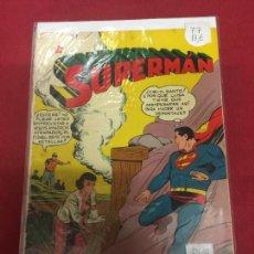 Tebeos: SUPERMAN NUMERO 77 BUEN ESTADO REF.16. Lote 97855067