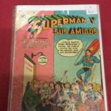 Tebeos: SUPERMAN Y SUS AMIGOS NUMERO 15 BUEN ESTADO REF.16. Lote 97855167