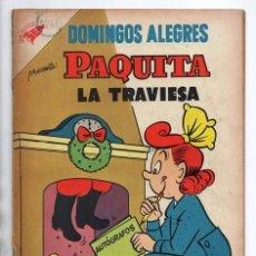 Tebeos: DOMINGOS ALEGRES # 145 NOVARO 1957 JIMMY HATLO PAQUITA LA TRAVIESA PEPINO LITTLE IODINE MUY BUEN EST. Lote 97960867